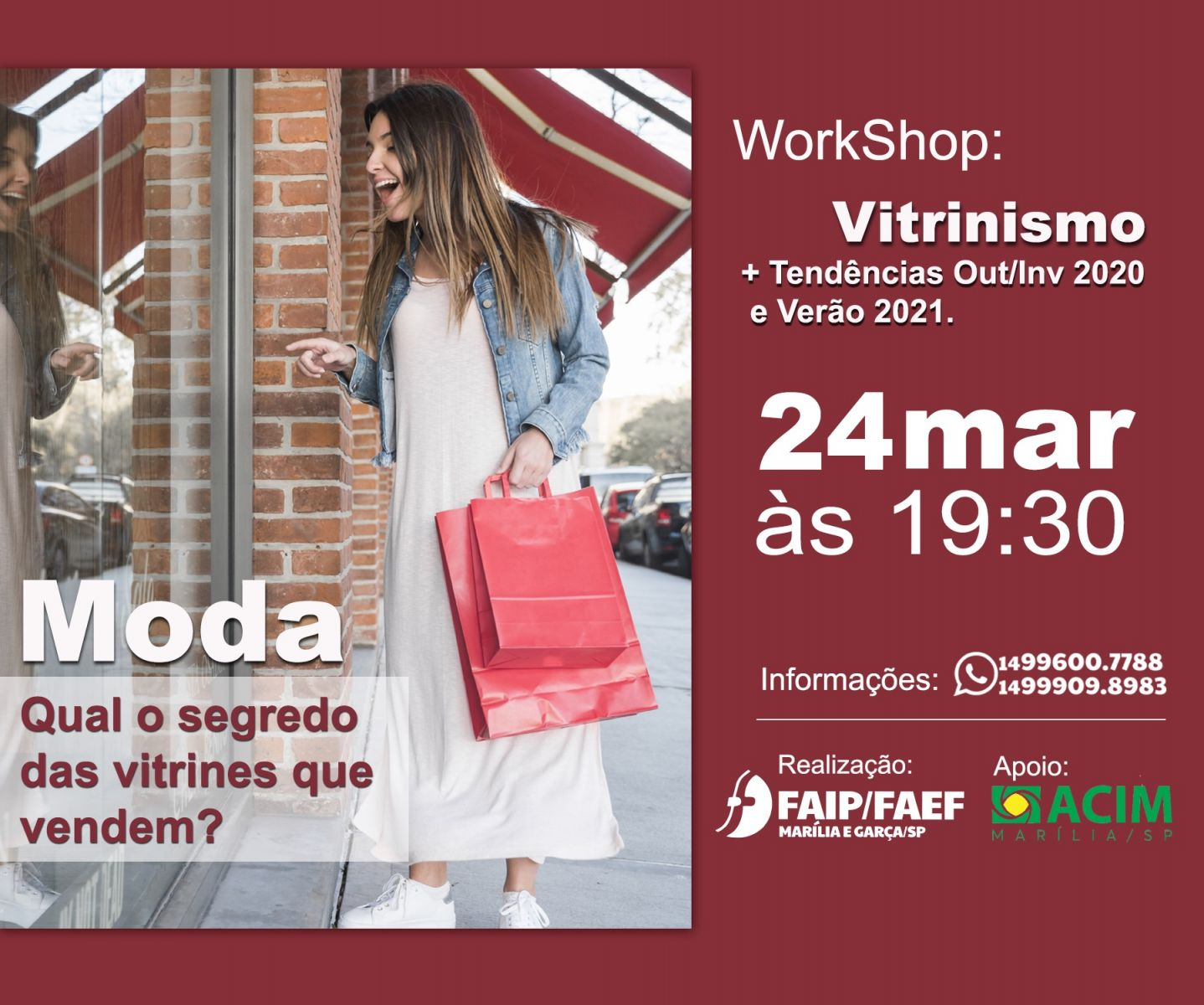 WORKSHOP VITRINISMO